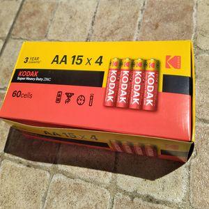 Батарейки R6 AA Kodak 60штук упаковка